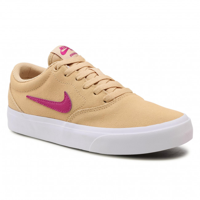 Chaussures NIKE - Sb Charge Suede CQ2470 200 Sesame/Cactus Flower ...