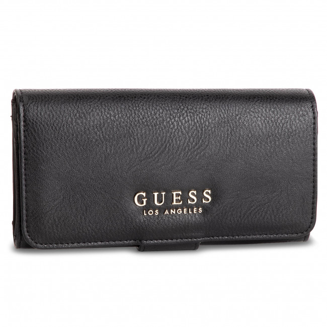 Portefeuille femme grand format GUESS File Clutch SWVG72 90590 BLA
