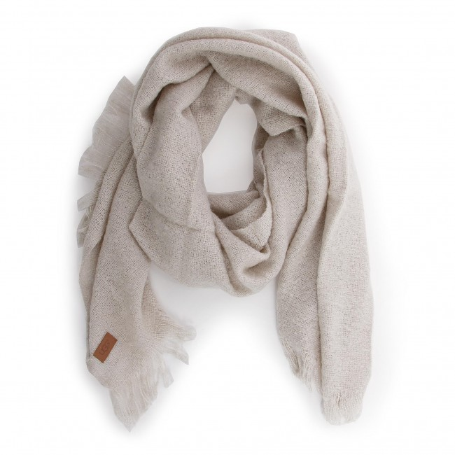 W Heather Light Écharpe Boucle Wrap Ugg 17511 Grey kOPXiZuT