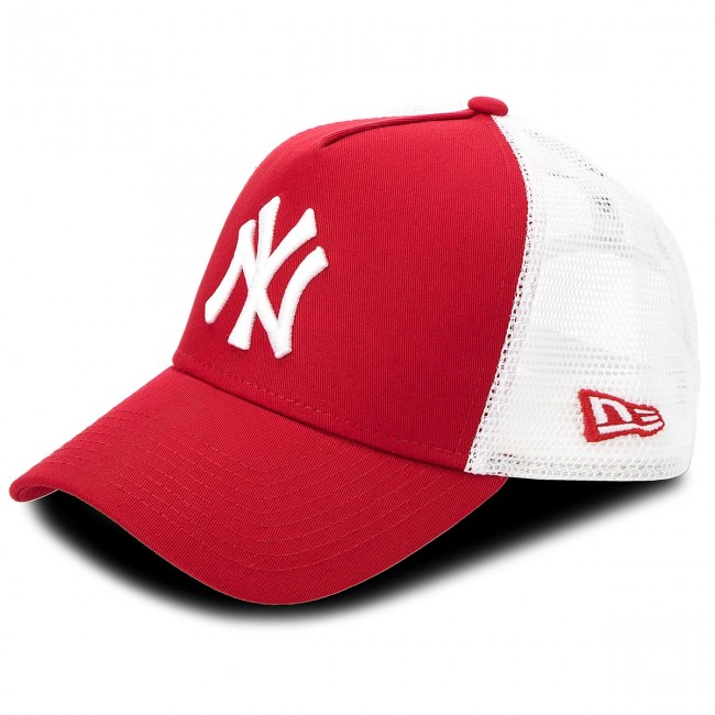 Casquette Clean 11588488 Blanc Rouge Trucker Era 2 New Ney 0wvmnyON8