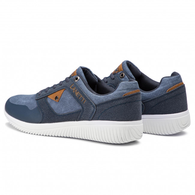 Sneakers Lanetti - Mp40-8123y Navy Chaussures Basses Homme NAnn1Sa8