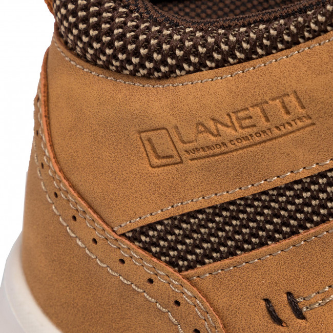 Sneakers Lanetti - Mp07-81146-01 Camel Chaussures Basses Homme