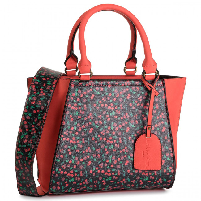 Sac à main LAURA VITA Dole KS851 1 Rouge