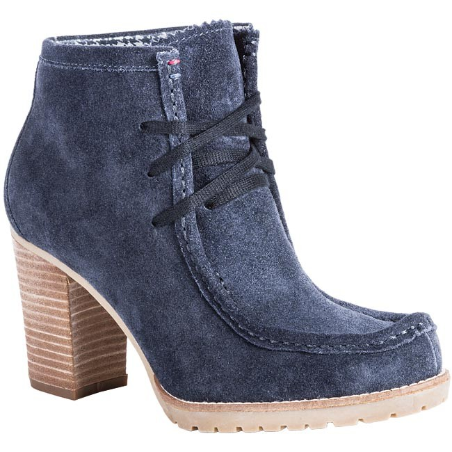 Bottines TOMMY HILFIGER - FW56814824 403 Bleu