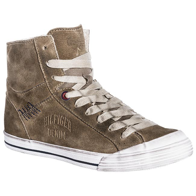 Sneakers TOMMY HILFIGER - EM56814572 Timber Wolf 248