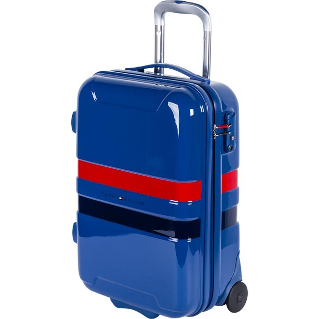 Valise rigide petite taille TOMMY HILFIGER - Cruise Mini Trolley 1TTWS410A3 Turkish Sea