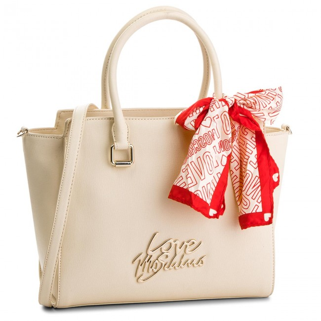 Avorio Sac Main À Love Jc4049pp15le0110 Moschino FTK3l1cJ