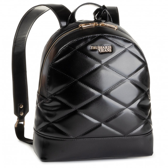 Jeans T Backpack Black Trussardi Sac Quilt Easy Dos Md K299 75b00665 À City rBeodCx