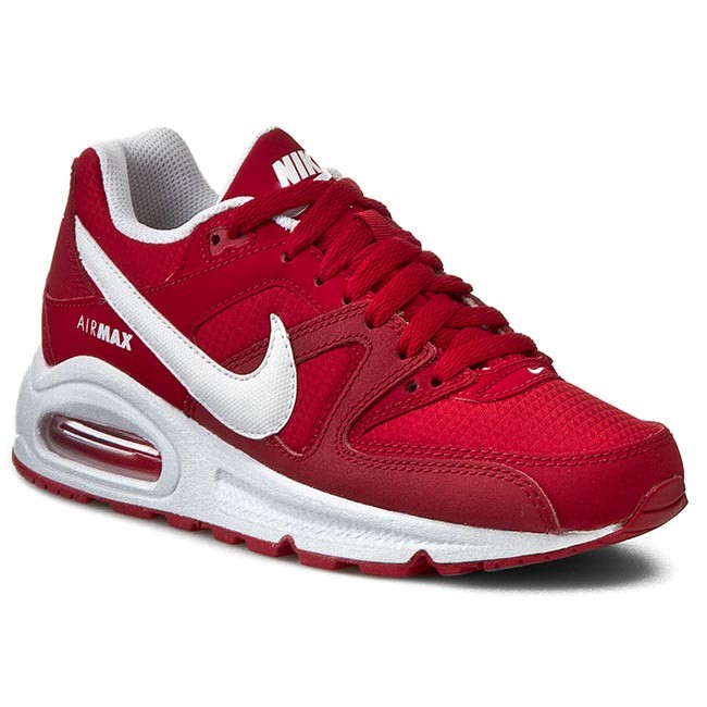 Chaussures NIKE Air Max Command (Gs) 407759 616 Gym RedWhite Gym Red White