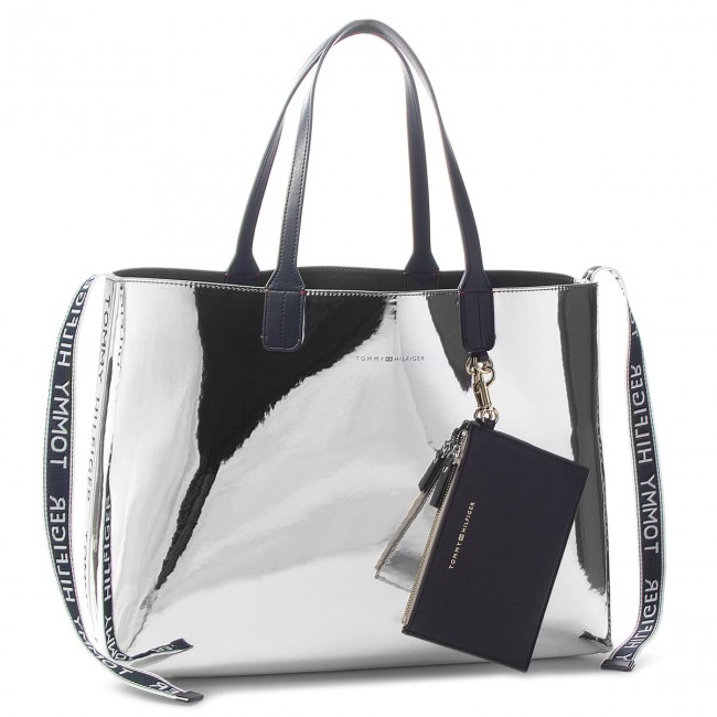 Sac à main TOMMY HILFIGER Iconic Tommy Tote Mt AW0AW05830 907
