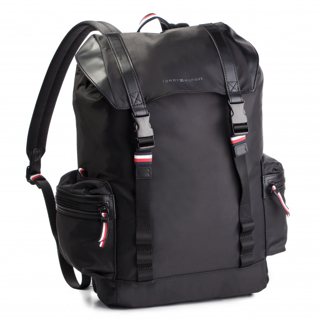 Sac à dos TOMMY HILFIGER Sport Nylon Backpack AM0AM04434 002