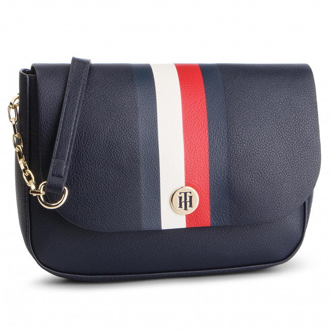 Sac à main TOMMY HILFIGER My Tommy Crossover AW0AW06425 901