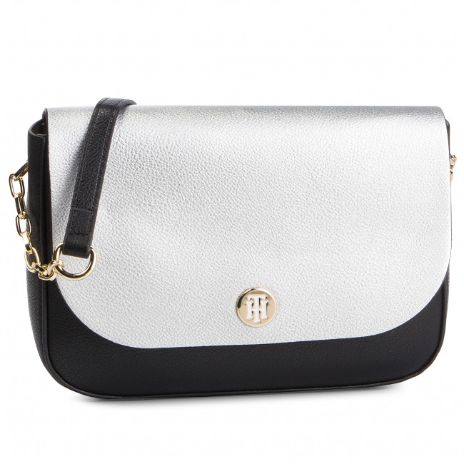 Sac à main TOMMY HILFIGER My Tommy Crossover AW0AW06425 002