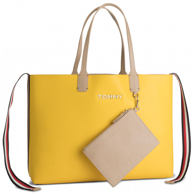Sac à main TOMMY HILFIGER Iconic Tommy Tote AW0AW06833 904