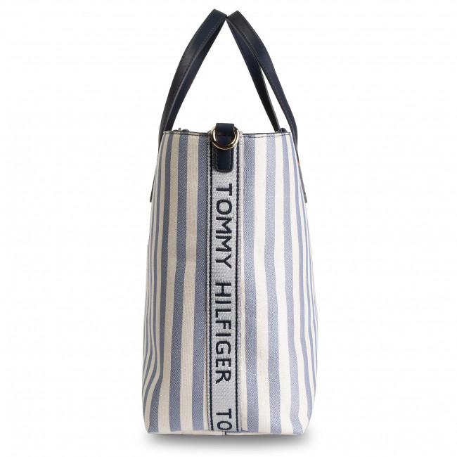 Sac à main TOMMY HILFIGER Iconic Tommy Satchel Glitter AW0AW07042 901