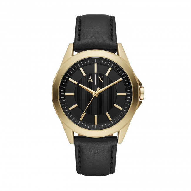 Black Armani Drexler Ax2636 Montre Exchange gold tQhrsdC
