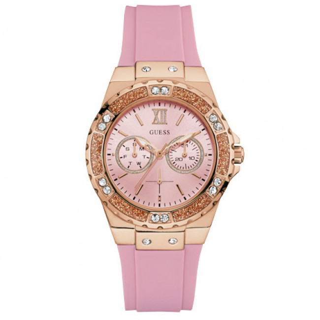 W1053l3 Pink Guess Tone Montre Limelight Gold rose gI7vYfyb6