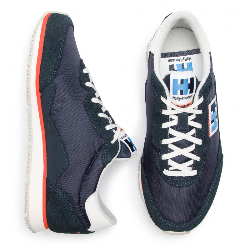 Sneakers HELLY HANSEN - Ripples Low-Cut Sneaker 114-82.597 Navy/Off White/Cherry Tomato - Sneakers - Chaussures basses - Femme