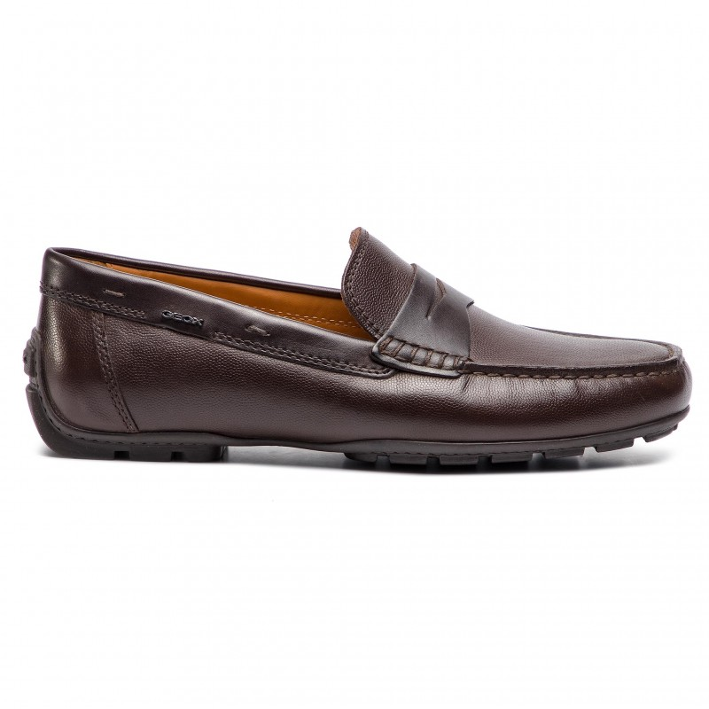 Mocassins GEOX - U Monter 2Fit A U824YA 04743 C6005 Chocolate - Mocassins - Chaussures basses - Homme