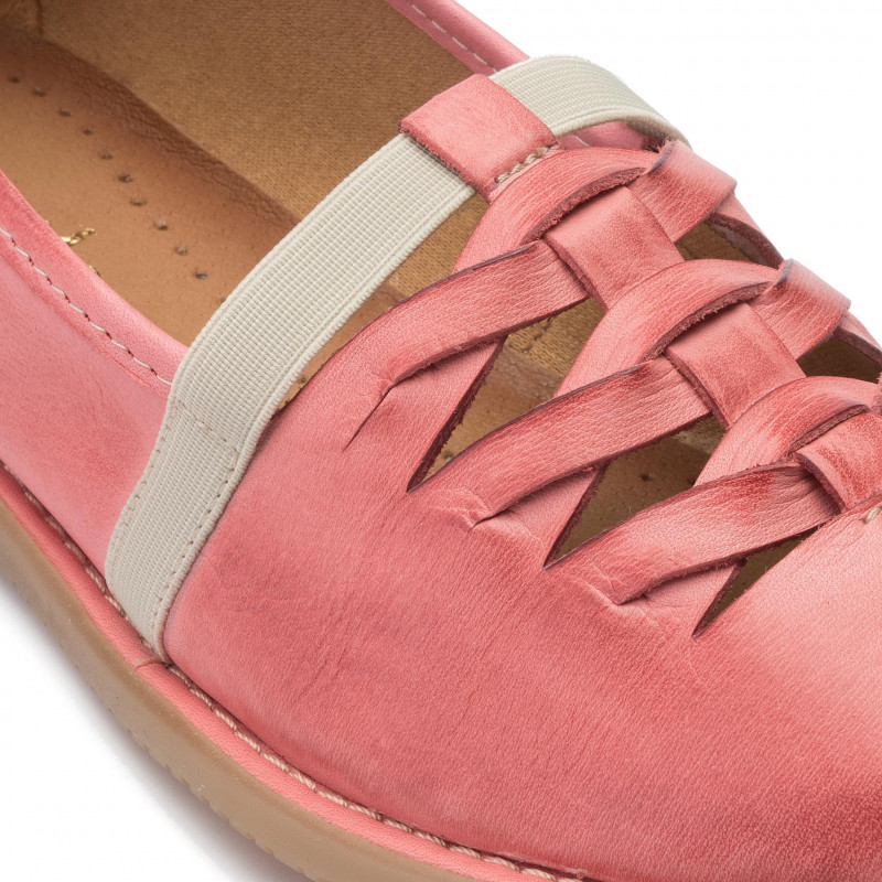 Chaussures basses MACIEJKA - 04094-15/00-6 Rose - Plates - Chaussures basses - Femme