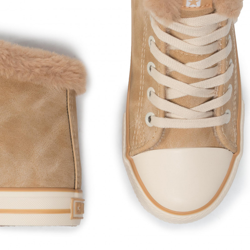 Sneakers BIG STAR - EE274050 Camel - Baskets - Chaussures basses - Femme