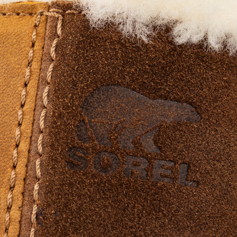 Bottines SOREL - Joan of Arctic Wedge II Shearling NL3021 Camel Brown 224 - Bottines - Bottes et autres - Femme