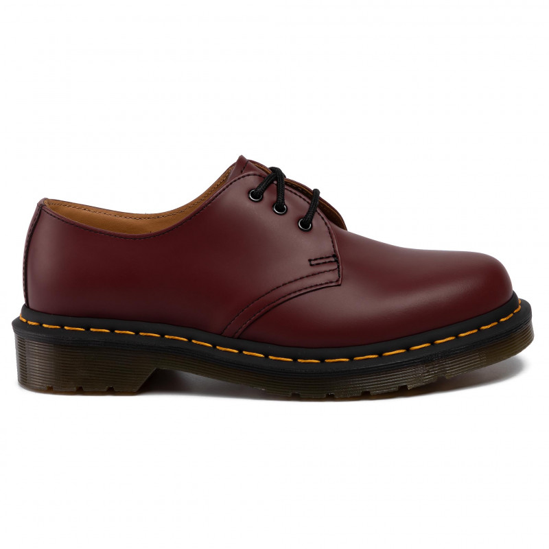 Chaussures basses DR. MARTENS - 1461 11838600 Cheery Red/Smooth - Plates - Chaussures basses - Femme
