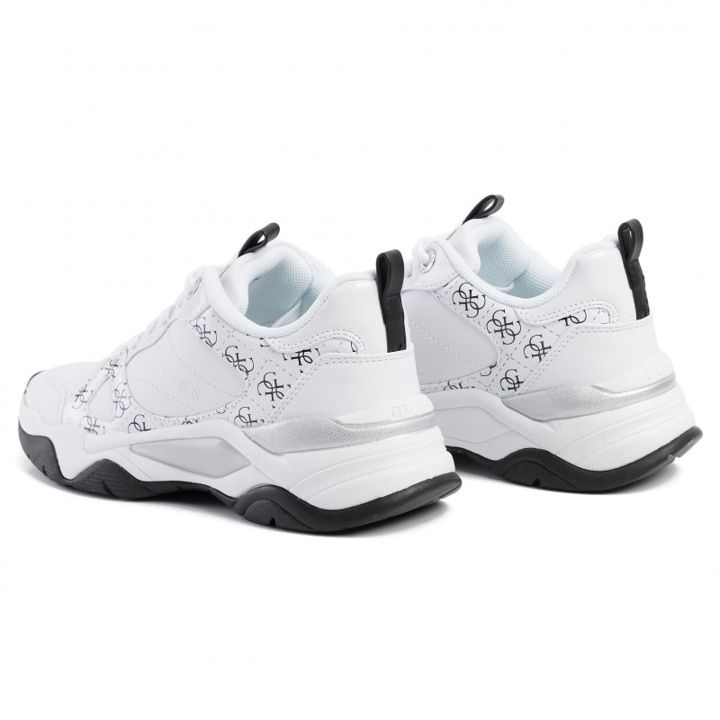 Sneakers GUESS - Flaus FL5FLS FAL12 WHITE - Sneakers - Chaussures basses - Femme