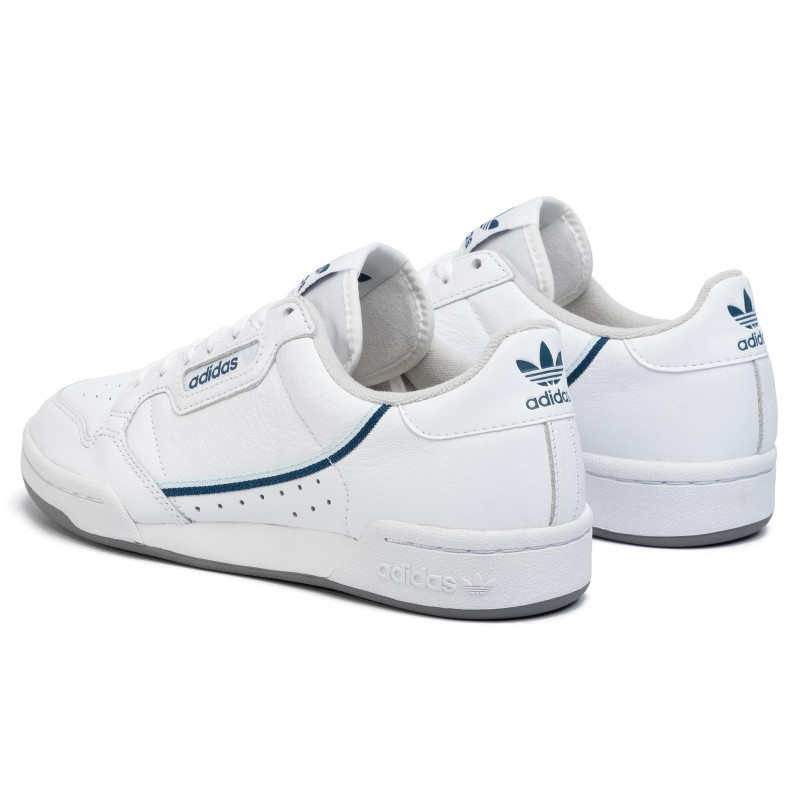 Chaussures adidas - Continental 80 EE5988 Ftwwht/Skytin/Legmar - Sneakers - Chaussures basses - Homme