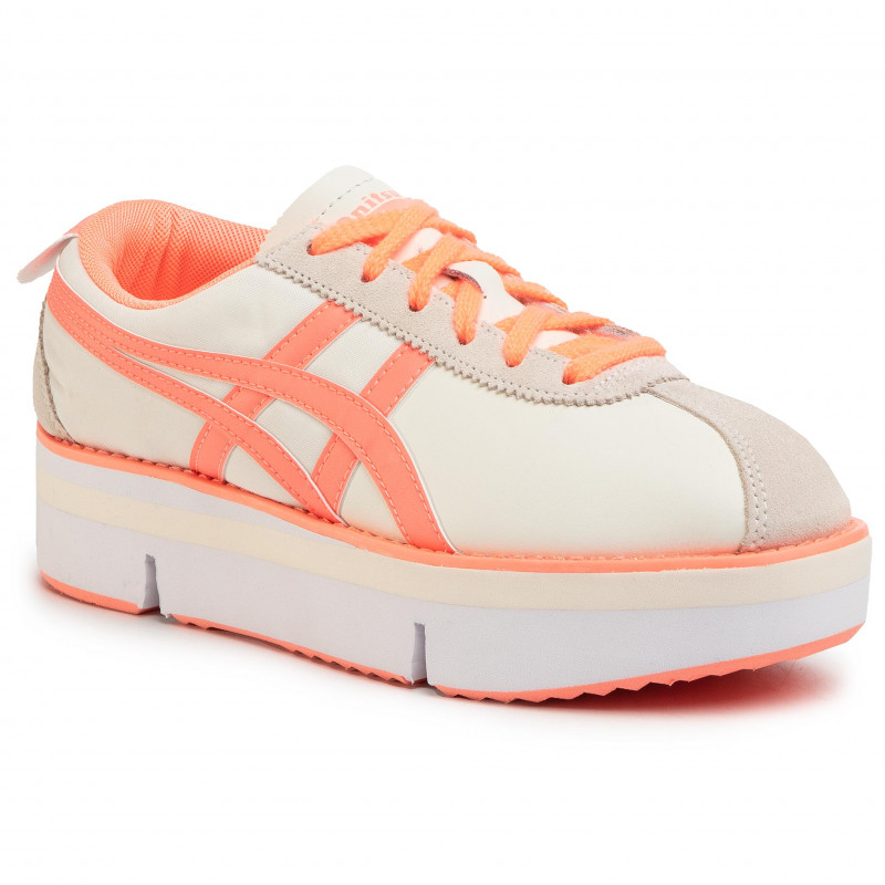 Sneakers ONITSUKA TIGER - Pokkuri Sneaker Pf 1182A127 Cream/Sun Coral 103 - Sneakers - Chaussures basses - Femme