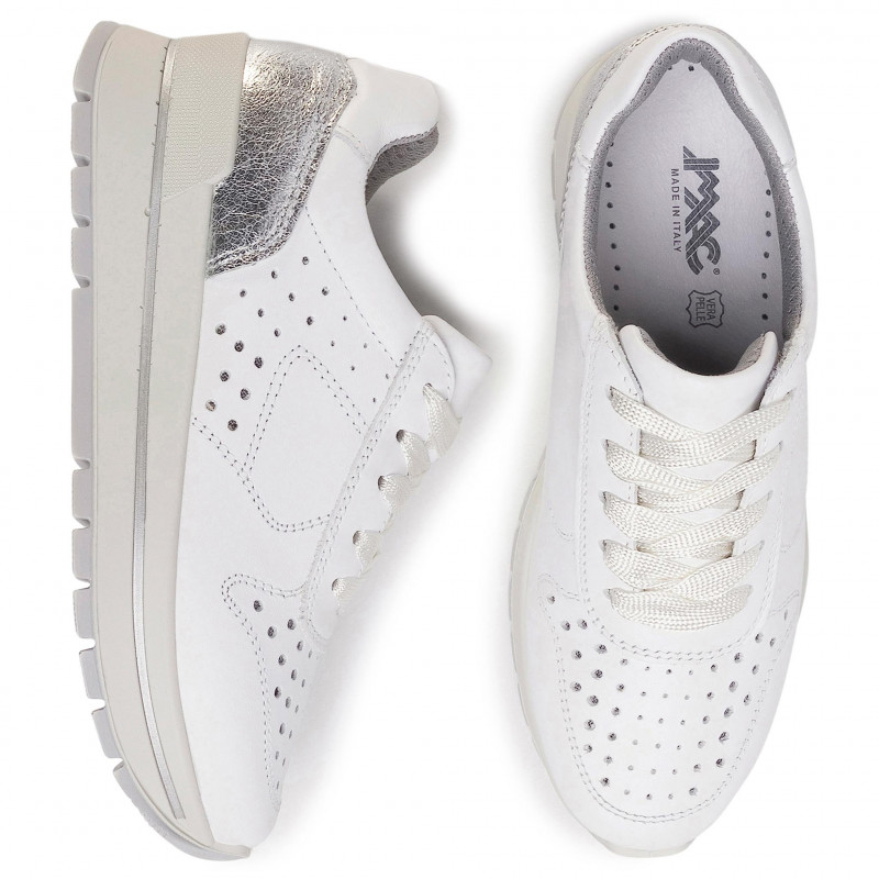 Sneakers IMAC - 507330 White/White 1405/001 - Sneakers - Chaussures basses - Femme