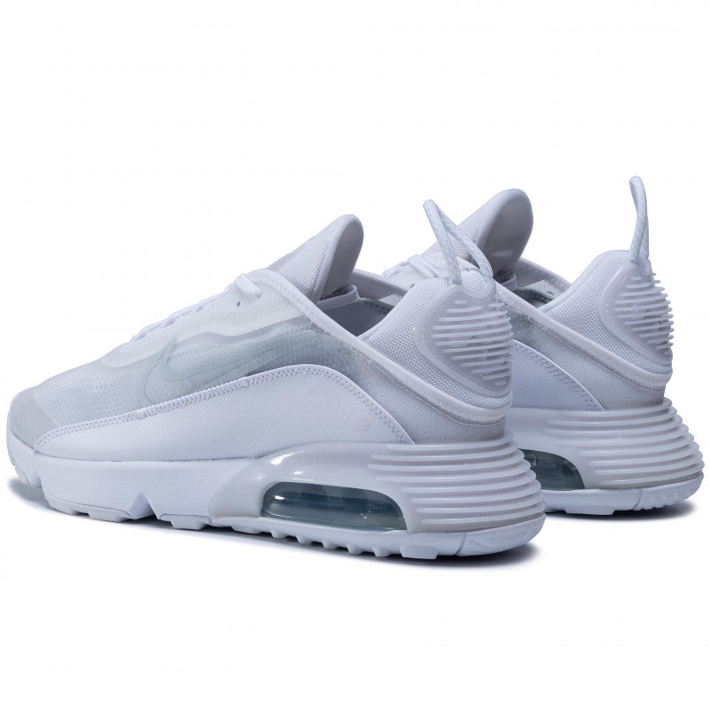 Chaussures NIKE - Air Max 2090 BV9977 100 White/White/Wolf Grey - Sneakers - Chaussures basses - Homme
