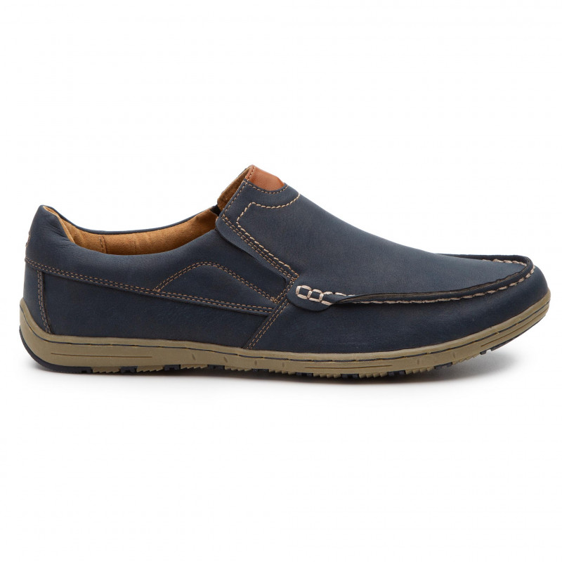 Chaussures basses LANETTI - M17SS143-1 Navy - Détente - Chaussures basses - Homme