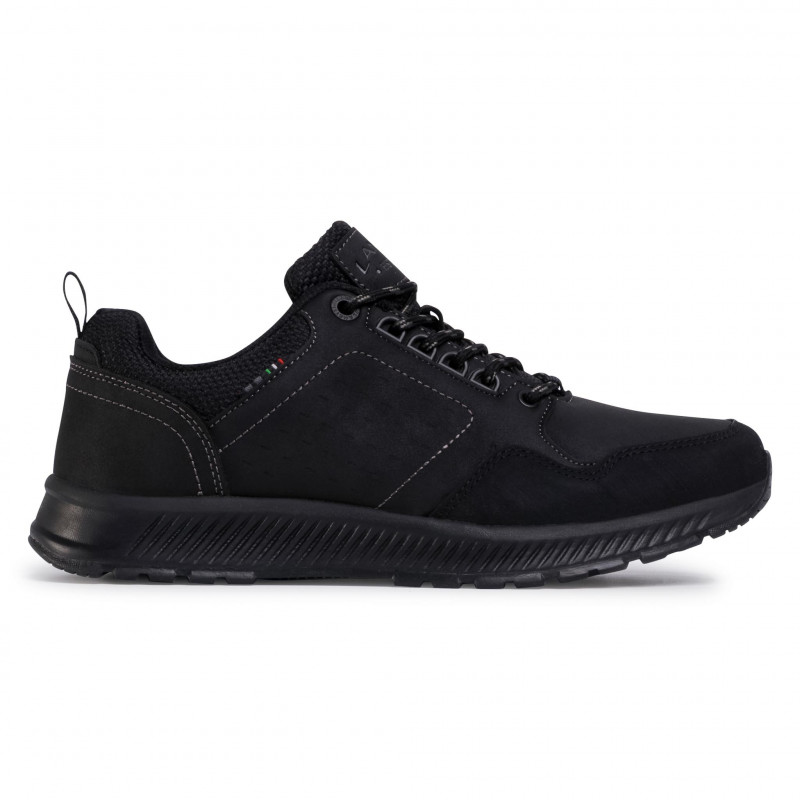 Sneakers LANETTI - MP07-91357-01 Black - Sneakers - Chaussures basses - Homme