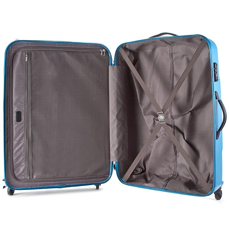 Valise rigide grande taille PUCCINI - PC015 A Blue 7 - Voyage - Accessoires