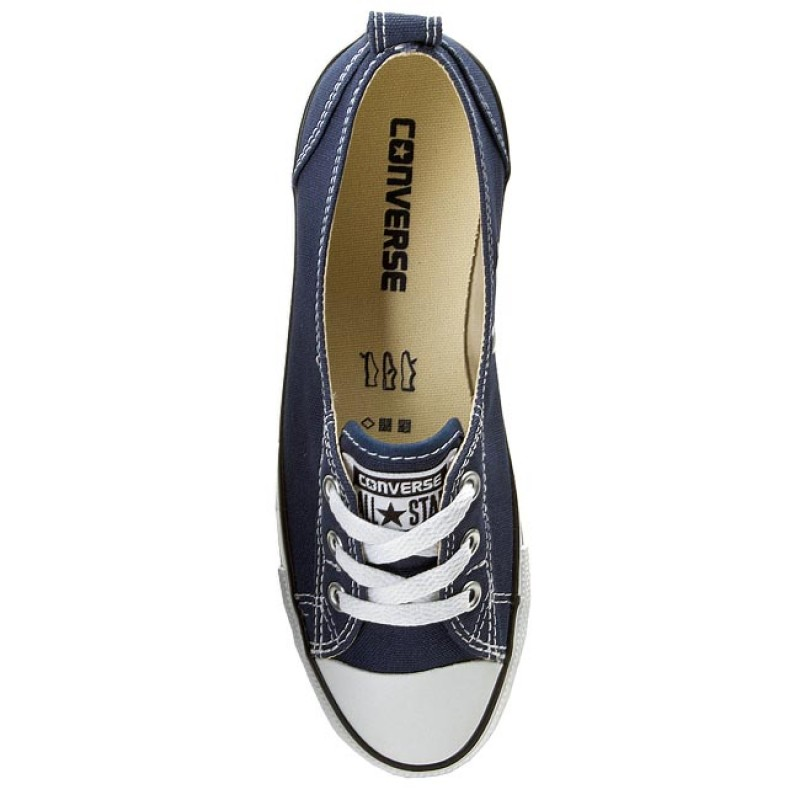 Sneakers CONVERSE - CT Ballet Lace 547165C Navy - Baskets - Chaussures basses - Femme