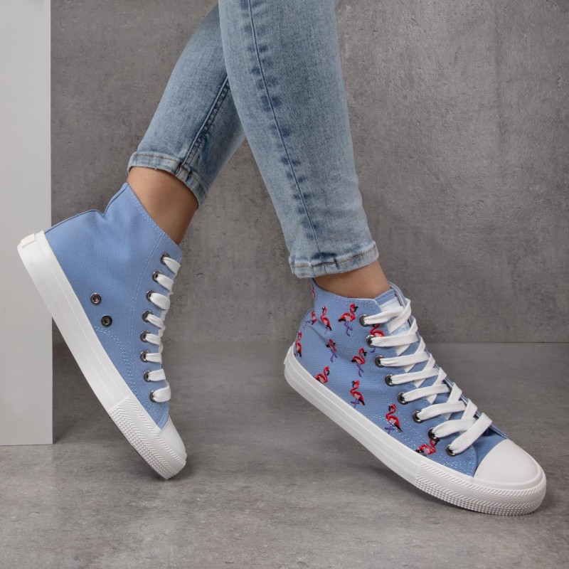 Sneakers BIG STAR - DD274662 Blue - Baskets - Chaussures basses - Femme