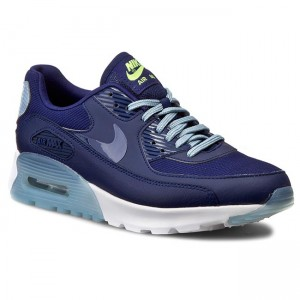 quality design d7453 cfc19 Chaussures NIKE - Air Max 90 Ultra Essential 724981 402 Lyl Bl Lyl Bl Bl  Gry Brght Crm - Détente - Chaussures basses - Femme - www.chaussures.fr