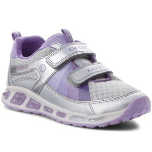 9bc760c583642 Chaussures basses GEOX J Shuttle G.B J8206B 0NF14 C1316 D Silver Lilac