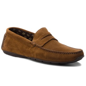 261241937 British Tan Mocassins Clarks Edge Reazor ztqxg86w