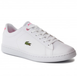cea348d723 Sneakers LACOSTE - Carnaby Evo Bl 2 Suj 7-37SUJ0012B53 Wht/Pnk - Sneakers -  Chaussures basses - Femme - www.chaussures.fr