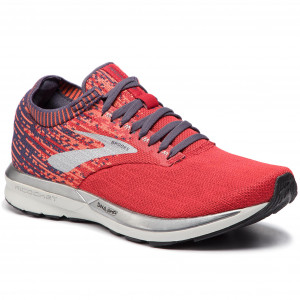 half off dfef1 bb855 Chaussures BROOKS - Ricochet 110293 1D 636 Red Orange Grey