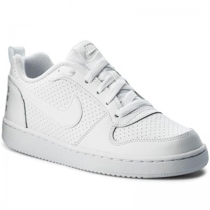 Chaussures NIKE Court Borough Low (GS) 839985 100 White