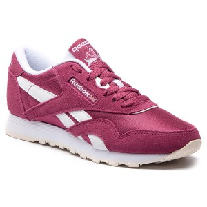 010a460de96a Chaussures Reebok - Cl Nylon CN4018 Twisted Berry White Chalk