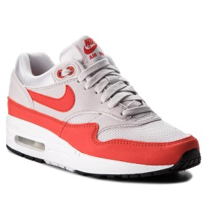 7511406fc2a Chaussures NIKE - Air Max 1 319986 035 Vast Grey Habanero Red