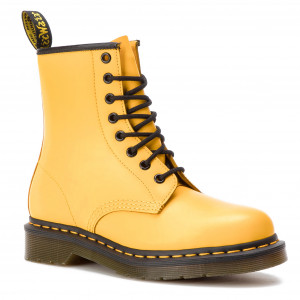 Chaussures Rangers DR. MARTENS 1460 Smooth 24614700 Yellow