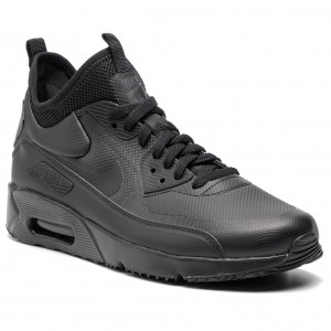 official photos 30a18 6d9ec Chaussures NIKE - Air Max 90 Ultra Mid Winter 924458 004  Black Black Anthracite
