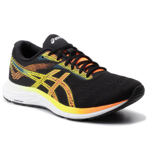Chaussures ASICS Gel Excite 6 1011A165 BlackHazard Green 002
