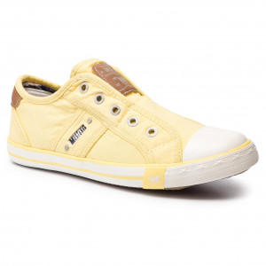 Sneakers MUSTANG - 42C0023 Himmelblau - Baskets - Chaussures basses - Femme