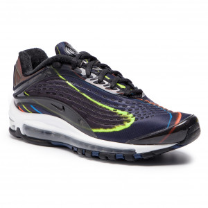 huge selection of 9cc3c bedfb Chaussures NIKE Air Max Deluxe AJ7831 001 Black Black Midnight Navy